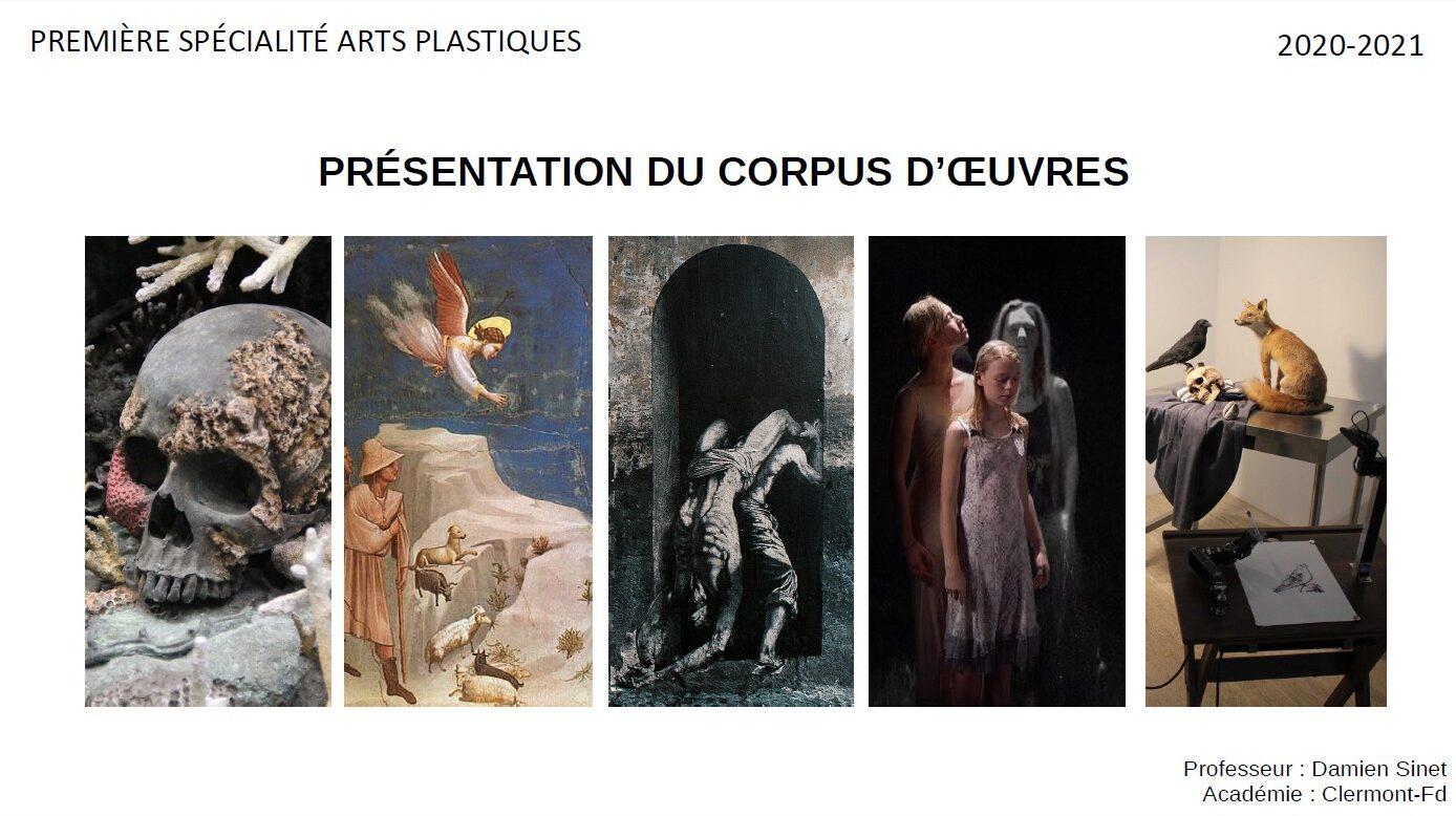 Corpus d'oeuvres 1ere spécilaité Arts plastiques - 2020-2021.jpg